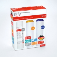 Набор картриджей Prio K603 для фильтров Praktic и фильтров серии E