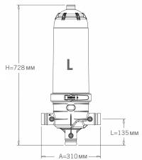 Гейзер Jimten DF-2 Long