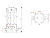Корпус Гейзер HPCF-5x20SL