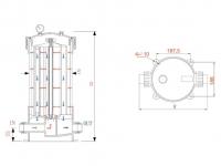 Корпус Гейзер HPCF-5x40SL