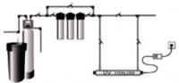 Гейзер SDE-006 - 6w, 1 Lamp TOPAQUA