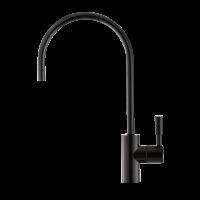 Кран для чистой воды Барьер (Черный глянец)
