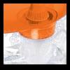 Фильтр-кувшин Танго оранжевый с узором